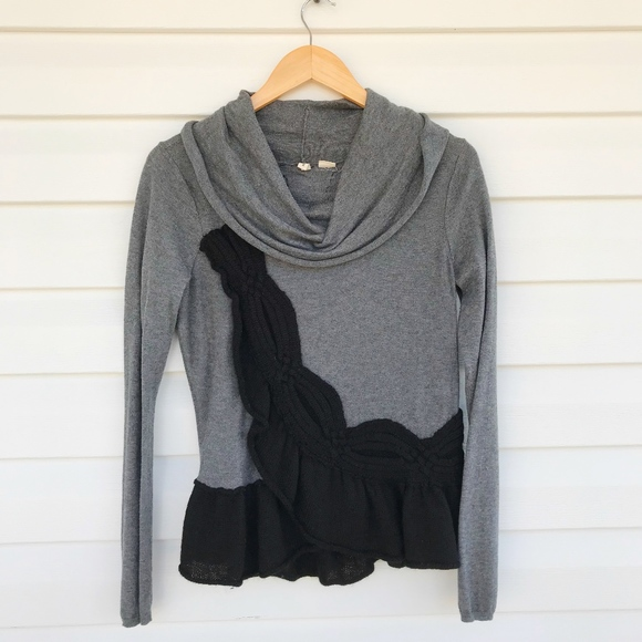 Anthropologie Sweaters - {Anthropologie} Moth Cowl Neck Sweater
